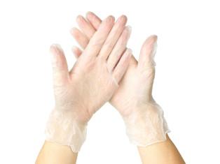 Вінілові рукавички (20 шт.)